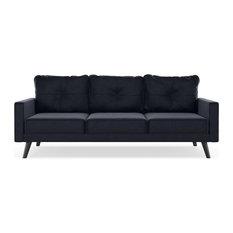 Caden Sofa Mod Velvet Midnight