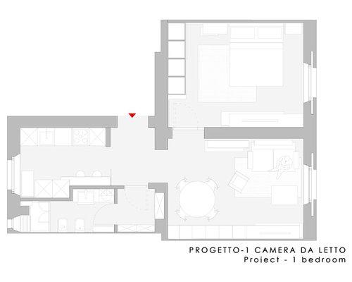 Progetto appartamento 50 mq