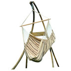 atlas chair stand ceara hammock stand   contemporary   hammock stands and      rh   houzz