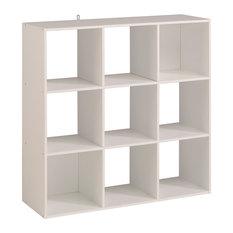 Kubikub 9 Cube Unit, White