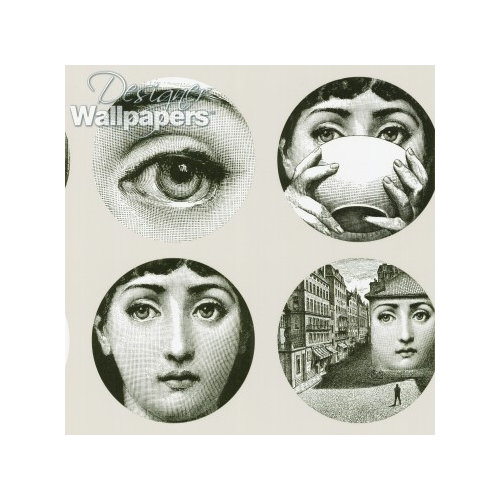 Faces Fornasetti Wallpaper Cole Sons No Longer Carries