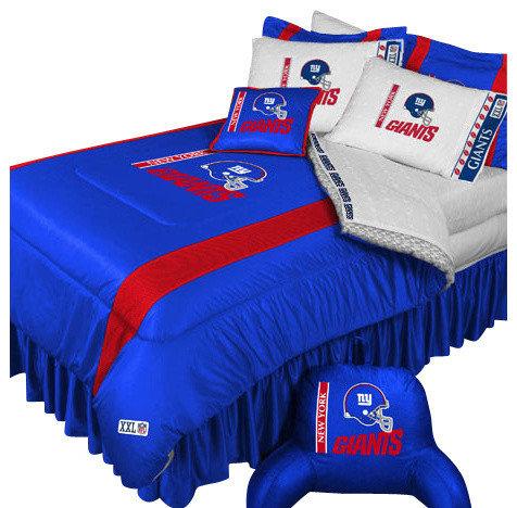 Store51 LLC   NFL New York Giants Comforter Pillowcase Football Bedding    Kids Bedding