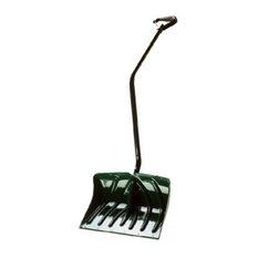 "Suncast Sc3250 Ergonomic Poly Snow Shovel/Pusher Combo, Green, 18"""