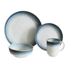 Marina Blue 16-Piece Dinnerware