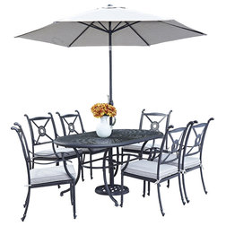 Luxury Traditional Outdoor Dining Sets by Home Styles Furniture