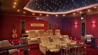 Кинотеатр в частном доме (г.Краснодар)
