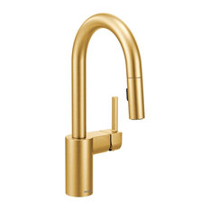 Moen Align Brushed Gold One-Handle Pulldown Bar Faucet