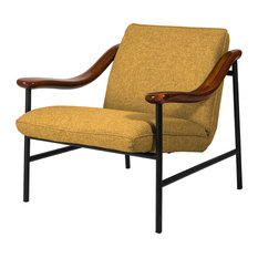 H. Russell Lounge Chair, Yellow