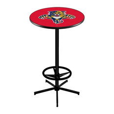 Florida Panthers Pub Table 36-inch by Holland Bar Stool Company