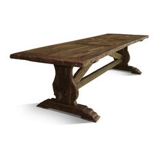 ROLDVIN Solid Wood Dining Table