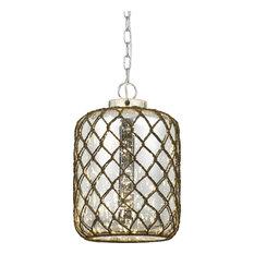 Cal Lighting - Rope Pendant L& Glass Rope - Pendant Lighting  sc 1 st  Houzz & Rope Chain Pendant Lighting | Houzz azcodes.com