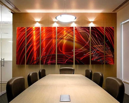 Extra Large Abstract Metal Wall Art