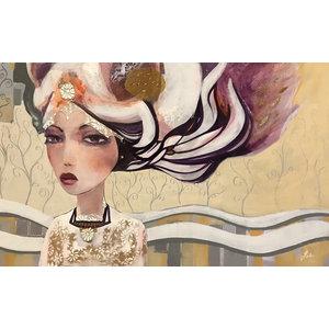 """Mayka"" Canvas Painting, 90x150 cm"