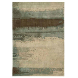 Calvin Klein Luster Wash Rug, Light Green, 91x152 cm