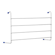 Metaltex 4-Bar Radiator Airer Windsor Laundry Clothes Line Drier, 2.4 m