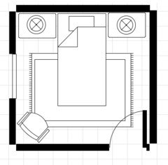 is 9x9 room to small for a bedroom rh houzz com