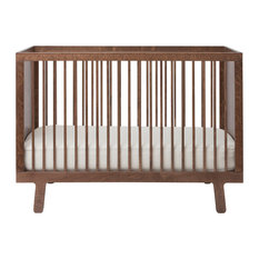 Oeuf - Sparrow Crib, Walnut - Cribs