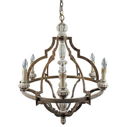 Stunning Farmhouse Chandeliers by ParrotUncle