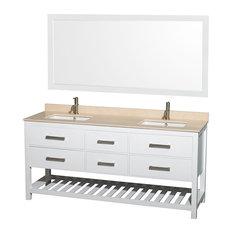 Inch Double Sink Bathroom Vanities Houzz