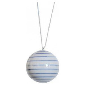 Anne Black Stripes Ball, Small
