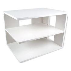 Corner Shelf, White