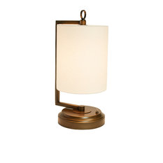 Modern Lantern   Jynn Cordless Lamp, Antique Bronze, Rechargeable Battery  Operated   Table Lamps