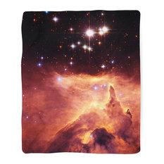 "Emissions Nebula Blanket, 30""x40"""
