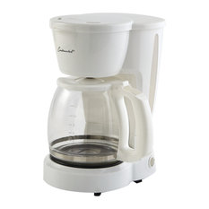 Coffee Maker, 12-Cup Capacity, White