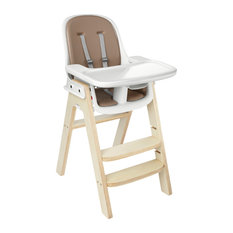 OXO Tot Sprout™ Chair, Taupe, Birch Wood Base