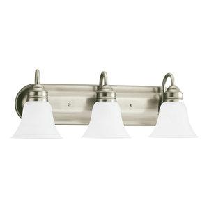 Sea Gull Gladstone 3-Light Wall/Bath Light 44852EN3-965, Antique Brushed Nickel