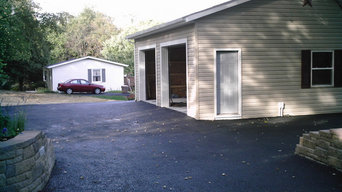 Garages and driveways
