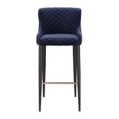 Etta Stool Dark Blue Bar Height