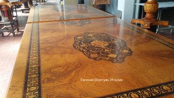 Фабрика классической мебели в Милане Италия