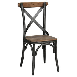 Industrial Dining Chairs by Kosas