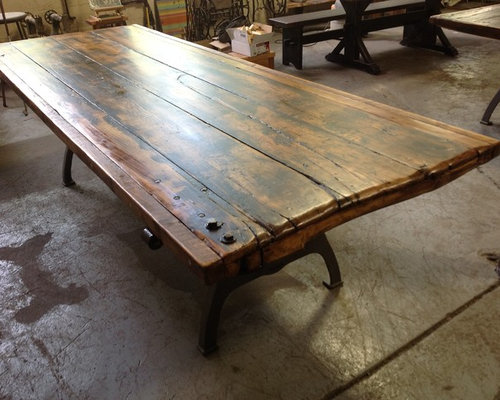 Delightful Antique Salvage Tables