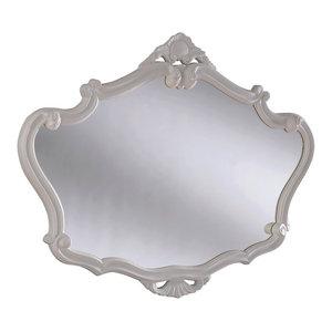 Victorian Style Wall Mirror, 91x71 cm