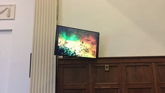 Church Flat Panel LCD and Projector Installation