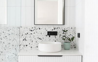Room of the Week: A Monochrome Bathroom With a Sense of Surprise