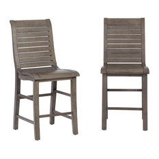 Willow Wood Counter Chair, Set of 2