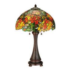 "Meyda Lighting 25""H Lamella Table Lamp"