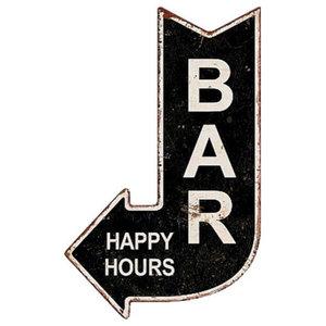 EMDE Bar Arrow Plaque, 38x60 cm