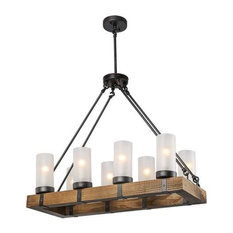 Charmant LNC   INC Rustic Ceiling Lights Wood Chandelier Lighting Kitchen Island  Pendant Light   Chandeliers