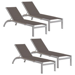 Contemporary Outdoor Chaise Lounges by Oxford Garden