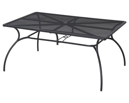 Metal Rectangular Outdoor Dining Table Amazon com Threshold