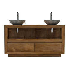 Kayumanis - Maros Bathroom Vanity Unit, 140 cm - Bathroom Vanity Units & Sink Cabinets