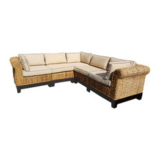 Attractive Chic Teak Inc.   Naples 5 Piece Sectional Sofa   Sectional Sofas
