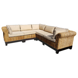 Tropical Outdoor Lounge Sets by Chic Teak