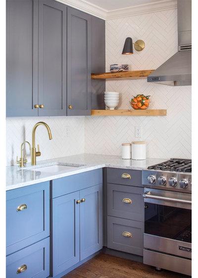 Transitional Kitchen by Ben Herzog