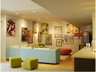 Contemporary Basement by Billinkoff Architecture PLLC
