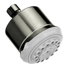 Hansgrohe 28496 Clubmaster 3 Jet Showerhead With Finish: Brushed Nickel